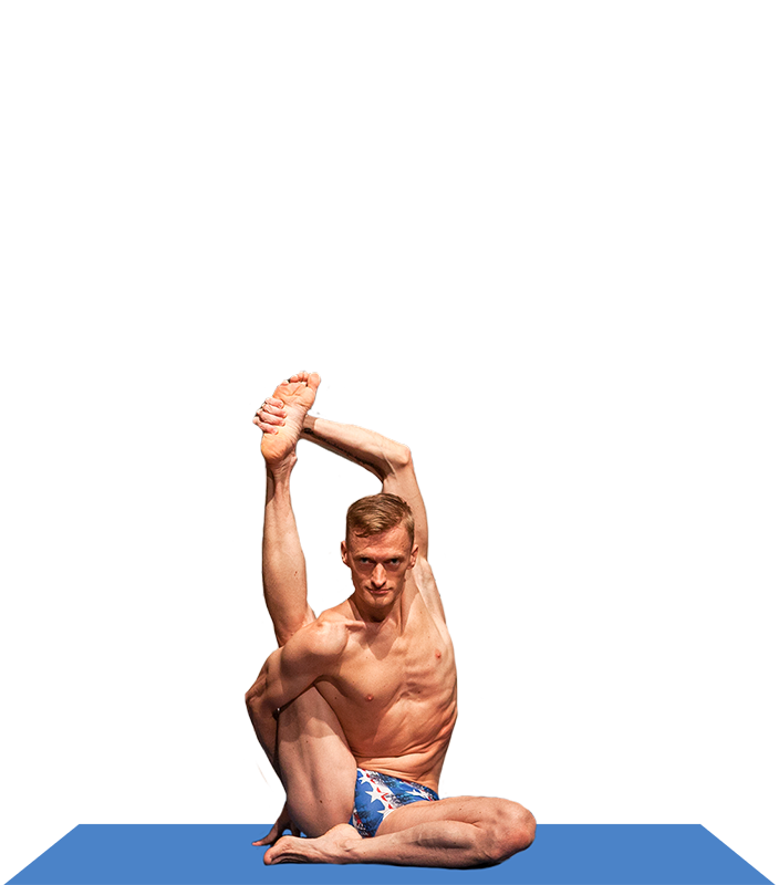 Jared Mccann And Joseph Encinia On The Men S Competitive Yoga S 2014 World Championship And Their Rivalry